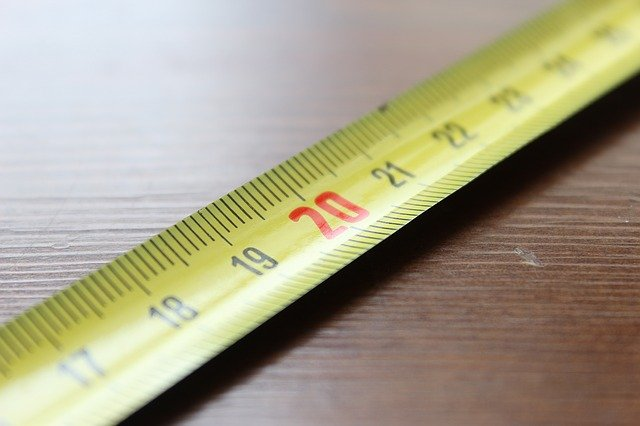 como medir una puerta